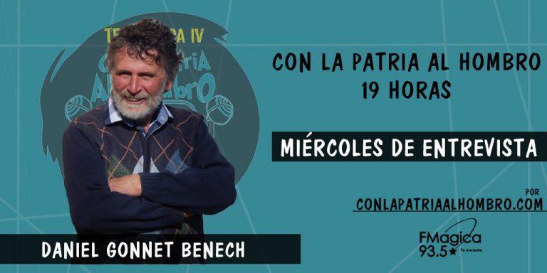 Entrevista con Daniel Gonnet, candidato a Alcalde de Juan Lacaze