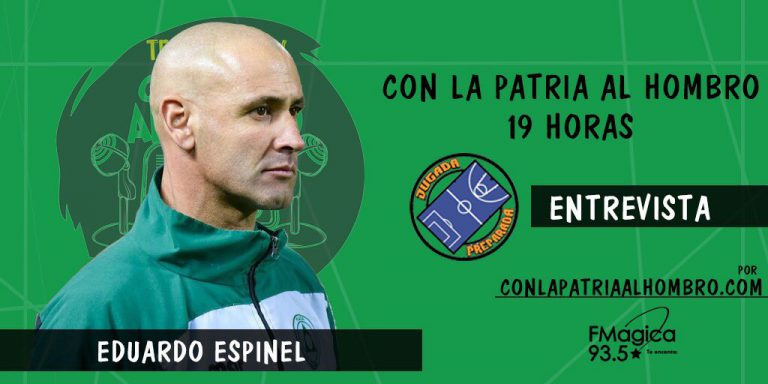 Eduardo Espinel, DT de Plaza Colonia