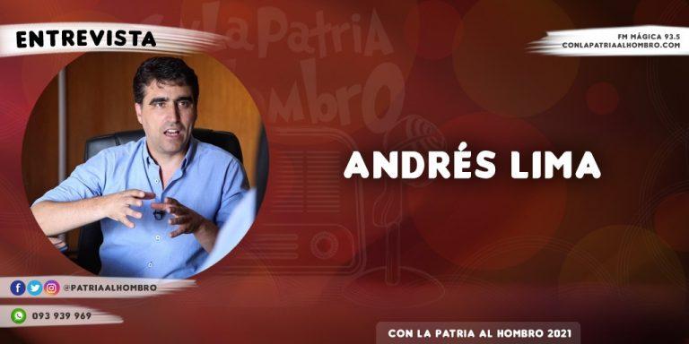 """Andrés Lima: """"No era conveniente retomar la presencialidad en las escuelas"""""""