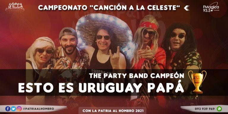 ¡The Party Band Campeona del Mundial de Canciones Celestes!