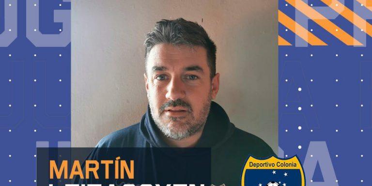 Entrevista a Martín Leizagoyen, Directivo del Deportivo Colonia