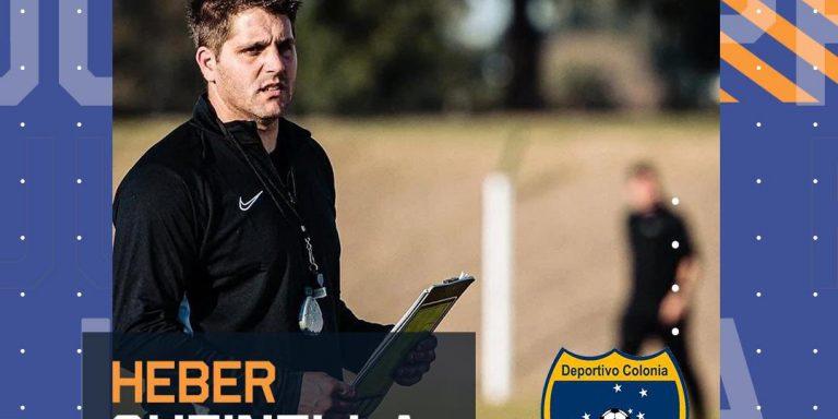 Entrevista a Heber Cutinella, DT del Deportivo Colonia