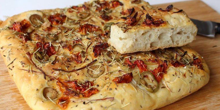 Pizzas y Focaccias de Fermentación Lenta