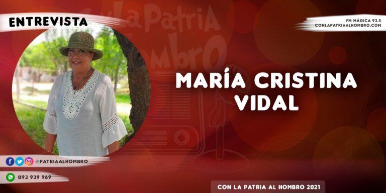 Entrevista a María Cristina Vidal, autora lacazina